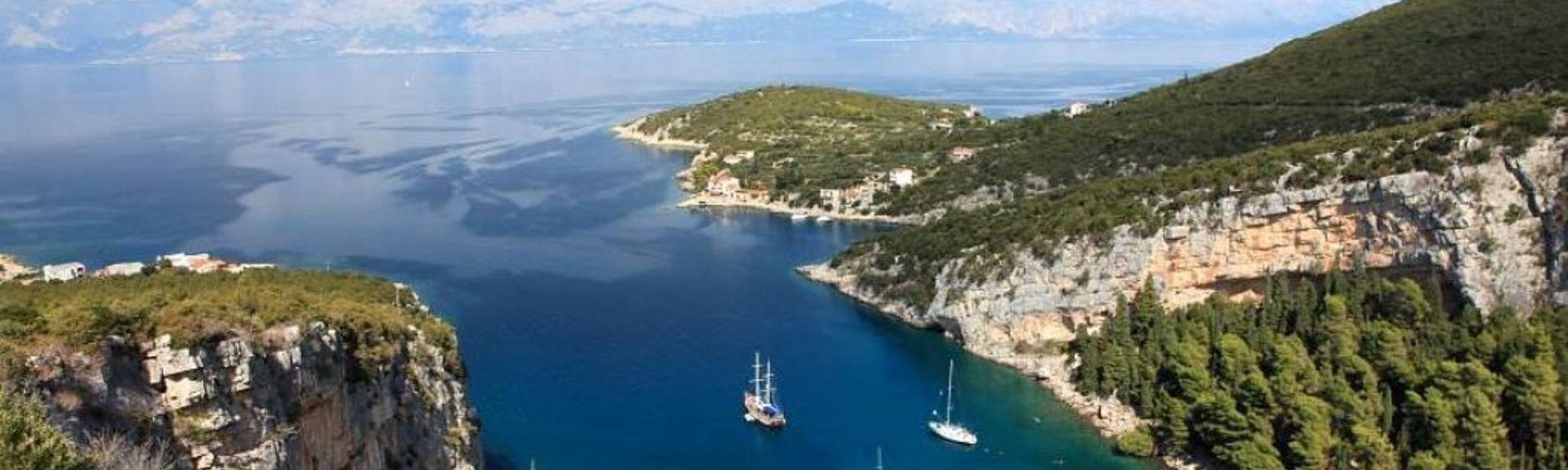 Pokrivenik, Split-Dalmatia, Kroatia