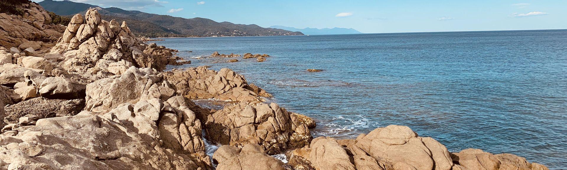 Canella Beach, Sari-Solenzara, Corse-du-Sud, France
