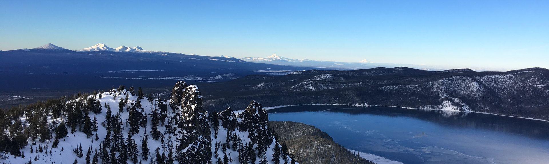 South Twin Lake, La Pine, Oregon, United States of America