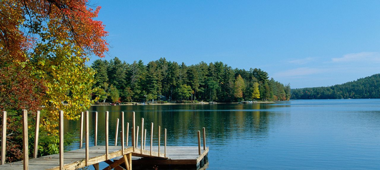 Squam Lake, Holderness, New Hampshire, États-Unis d'Amérique