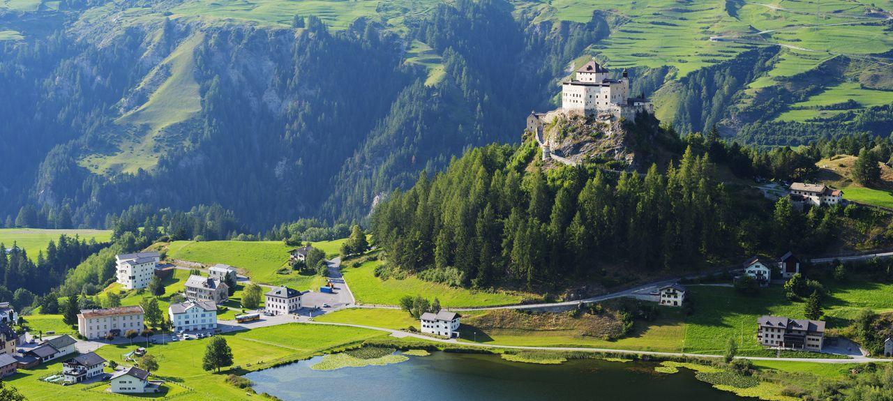 Scuol, Scuol, Graubuenden, Suiza