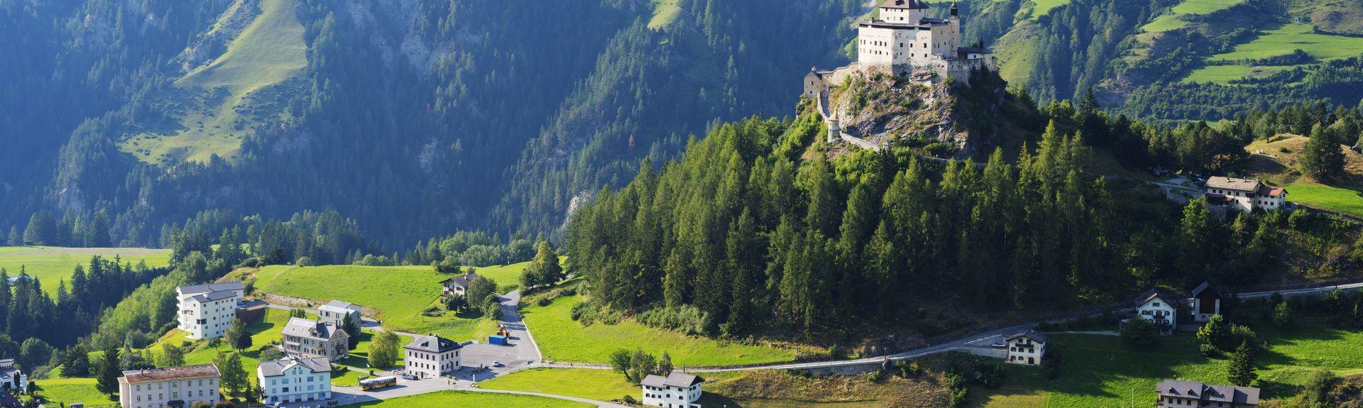 Scuol, Graubuenden, Suiza
