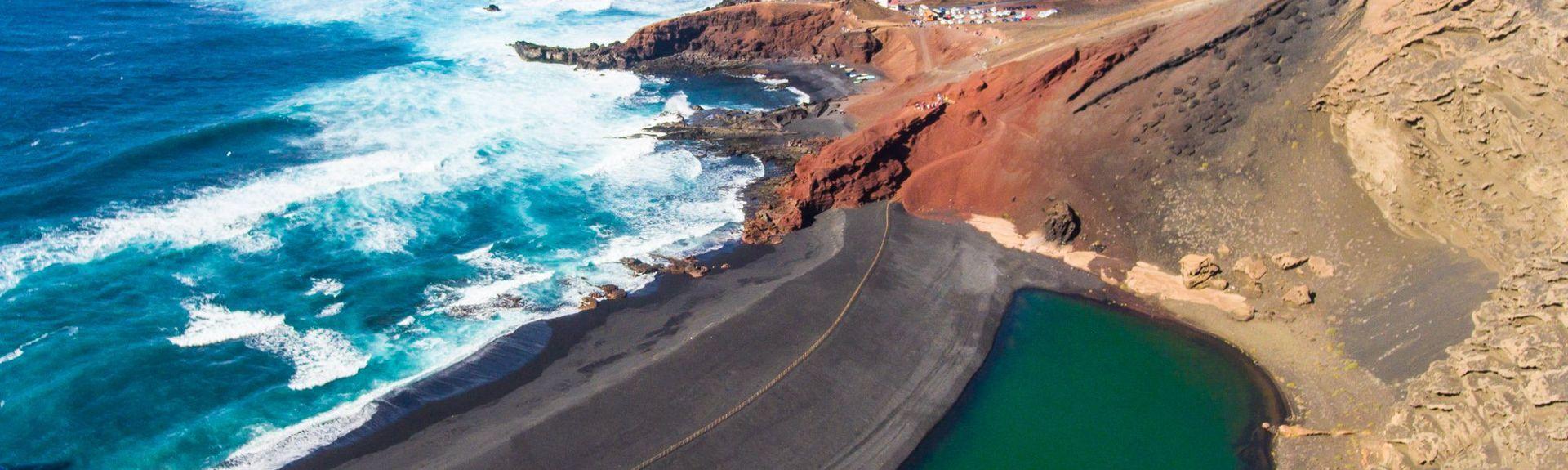 Playa Chica, Puerto del Carmen, Îles Canaries, Espagne