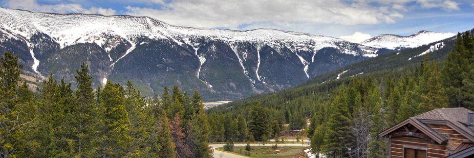 Copper Mountain Ski-resort, Frisco, Colorado, USA
