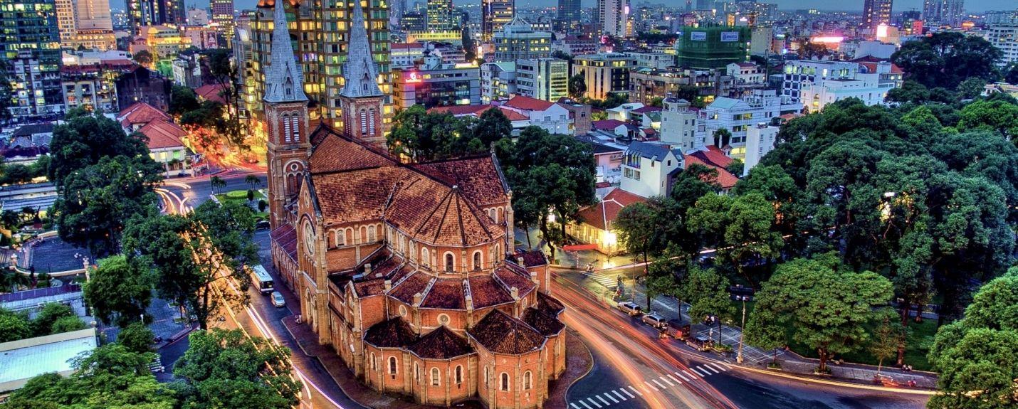 Gia Dinh Park, Ho Chi Minh City, Vietnam