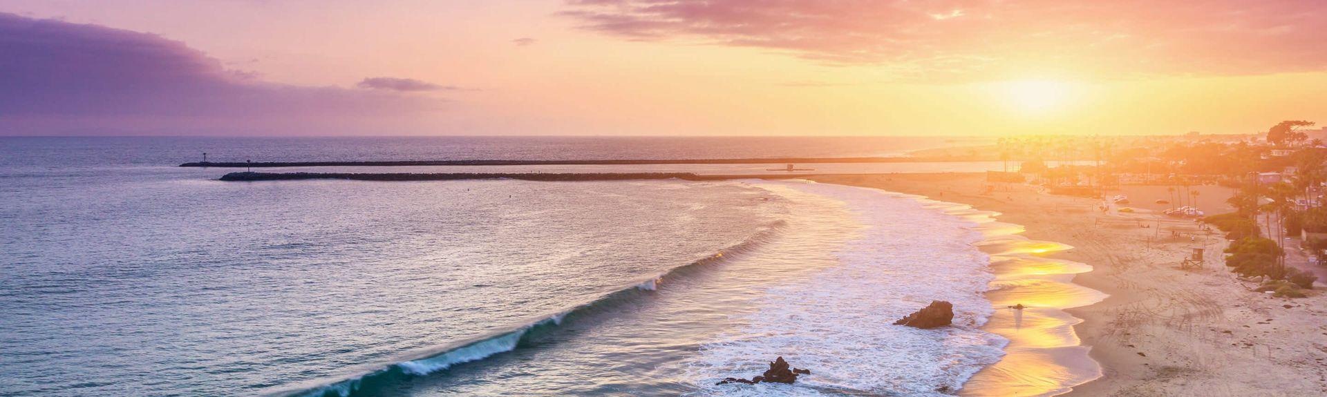 Aliso Beach Park, Laguna Beach, California, United States of America