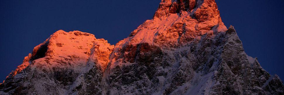 Champolucin köysirata, Ayas, Aostanlaakso, Italia