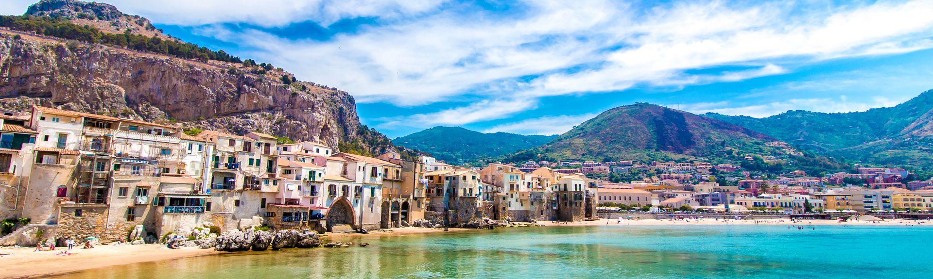 Cefalu, Sisilia, Italia