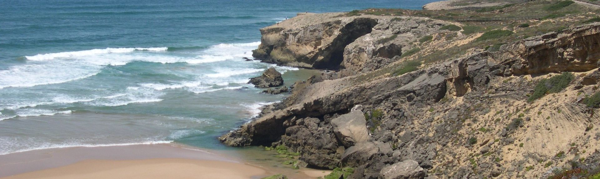 Praia do Monte Clérigo, Aljezur, Distrito de Faro, Portugal
