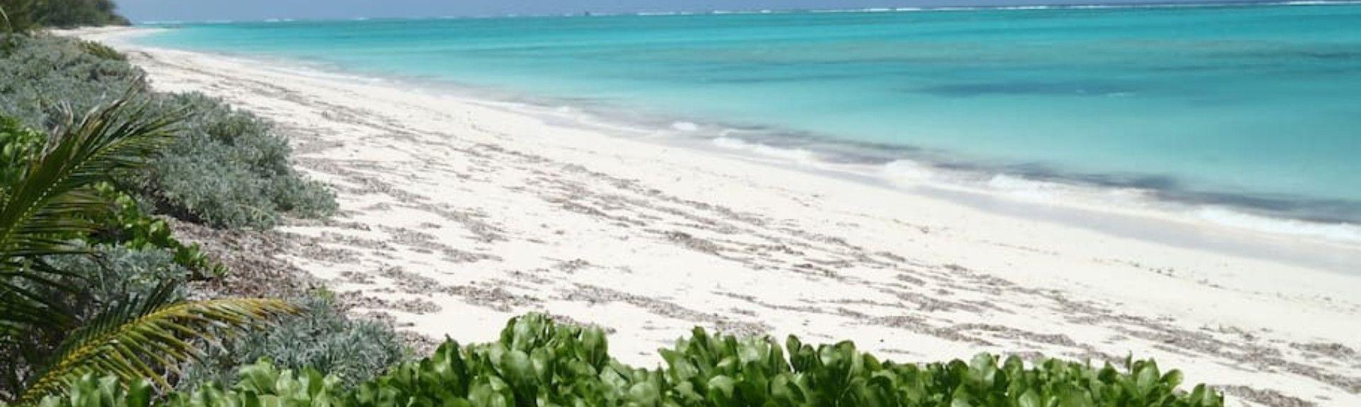 Plage de Leeward, Leeward Settlement, Caicos Islands, Îles Turks et Caïques