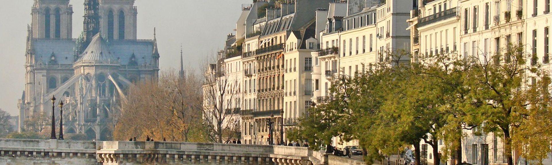 Quartier de l'Horloge, Paris, France