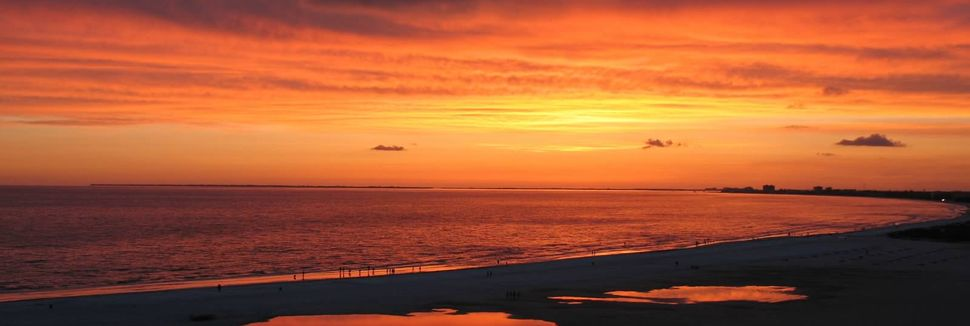 Little Hickory Island Beach Park, Bonita Springs, Florida, USA