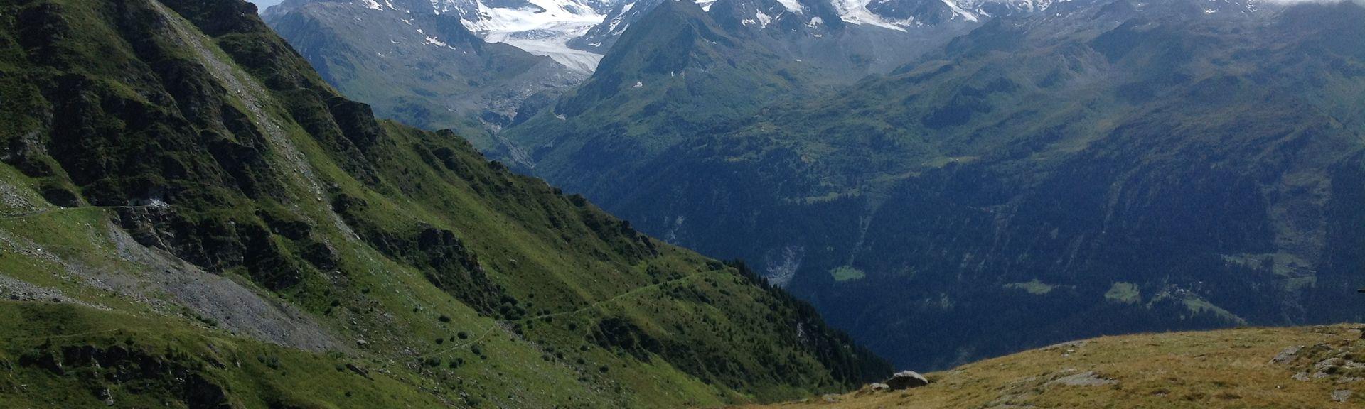 Icogne, Valais, Schweiz