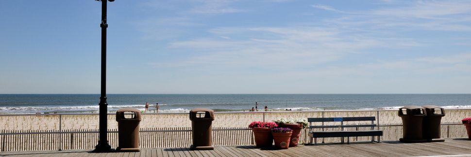 Boardwalk, Ocean City, New Jersey, États-Unis d'Amérique