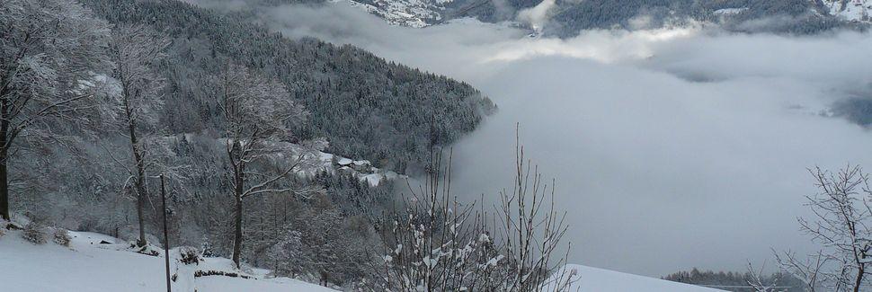 Telecabine de Laghet-Doss, Andalo, Trentino-Alto Adige, Itália