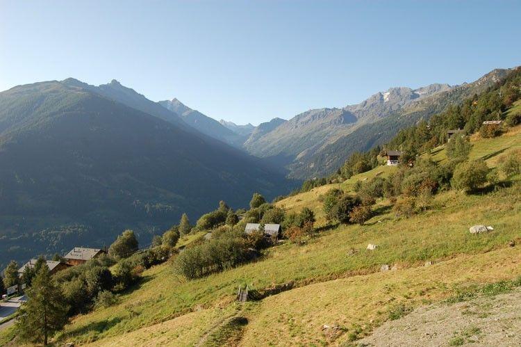Les Haudères, Valais, Suisse