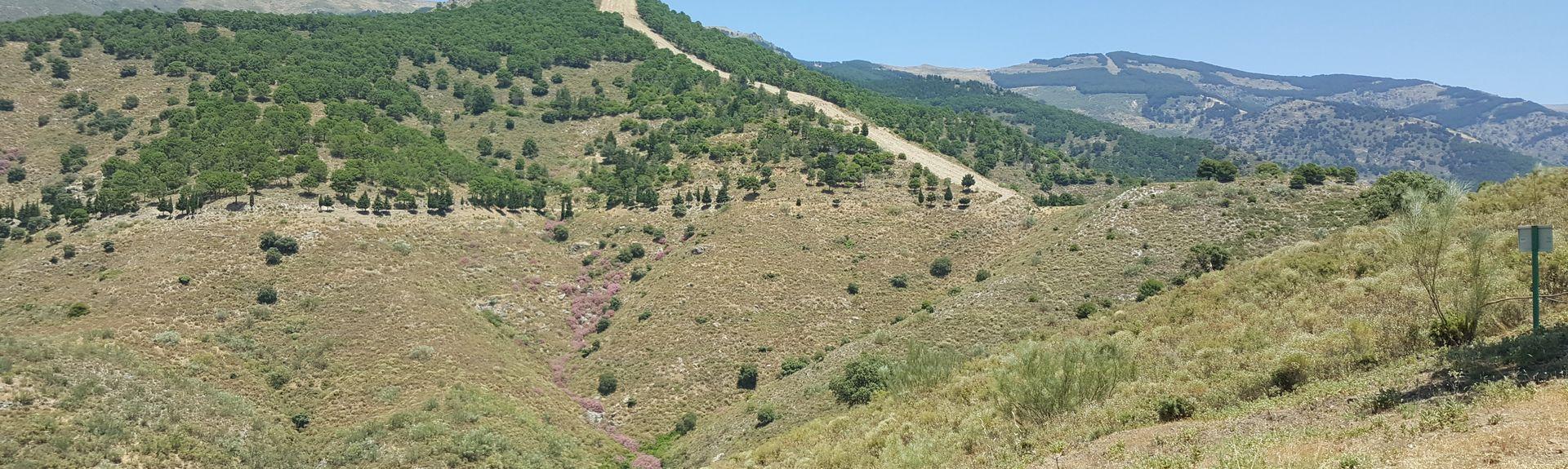 Nerjan uimaranta, Nerja, Andalusia, Espanjassa