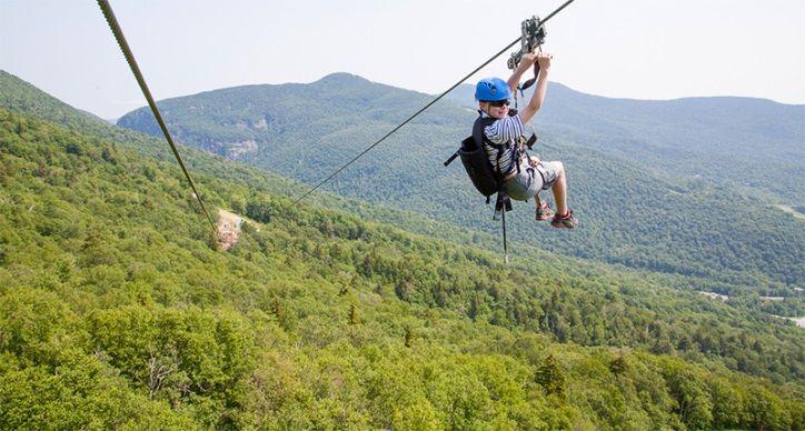 Stowe Mountain Resort, Stowe, VT, USA