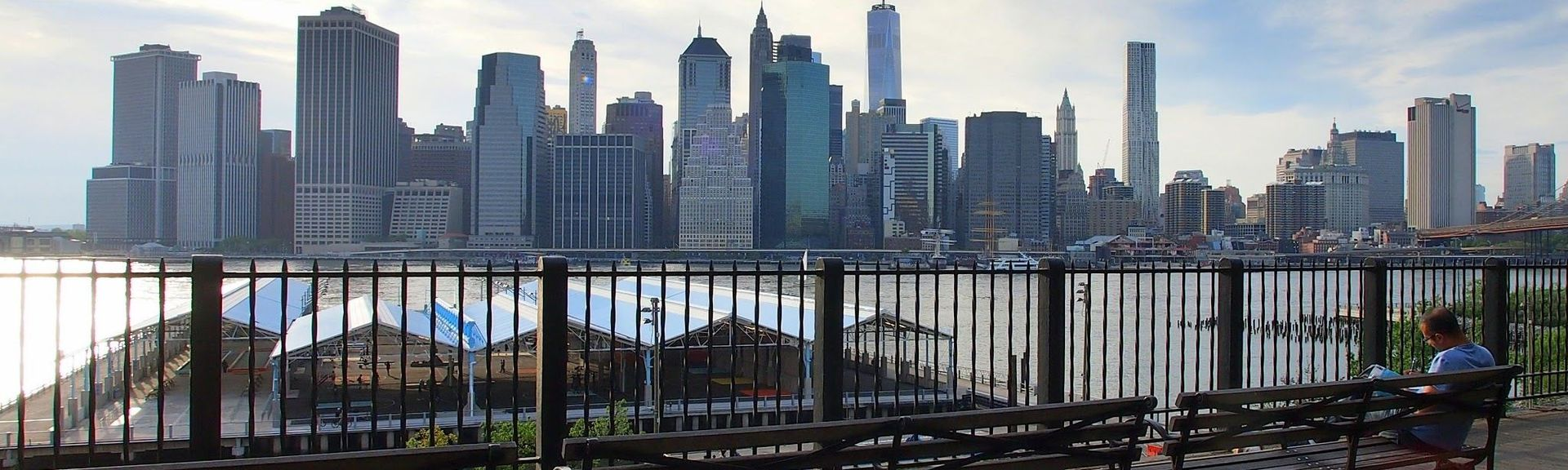 Brooklyn Heights Promenade, Brooklyn, NY, USA