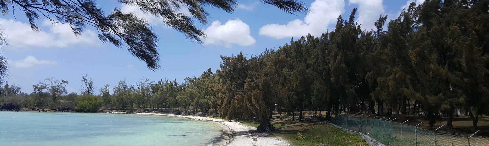 Plage d'Anse la Raie, Cap Malheureux, Rivière du Rempart, Île Maurice