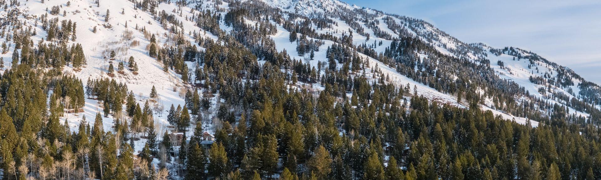Όρος Moran, Τέτον Ρέιντζ, Γουαϊόμινγκ, Ηνωμένες Πολιτείες