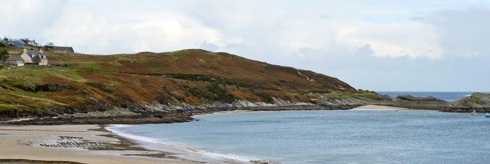 Durness Beach, Lairg, Skotland, Storbritannien