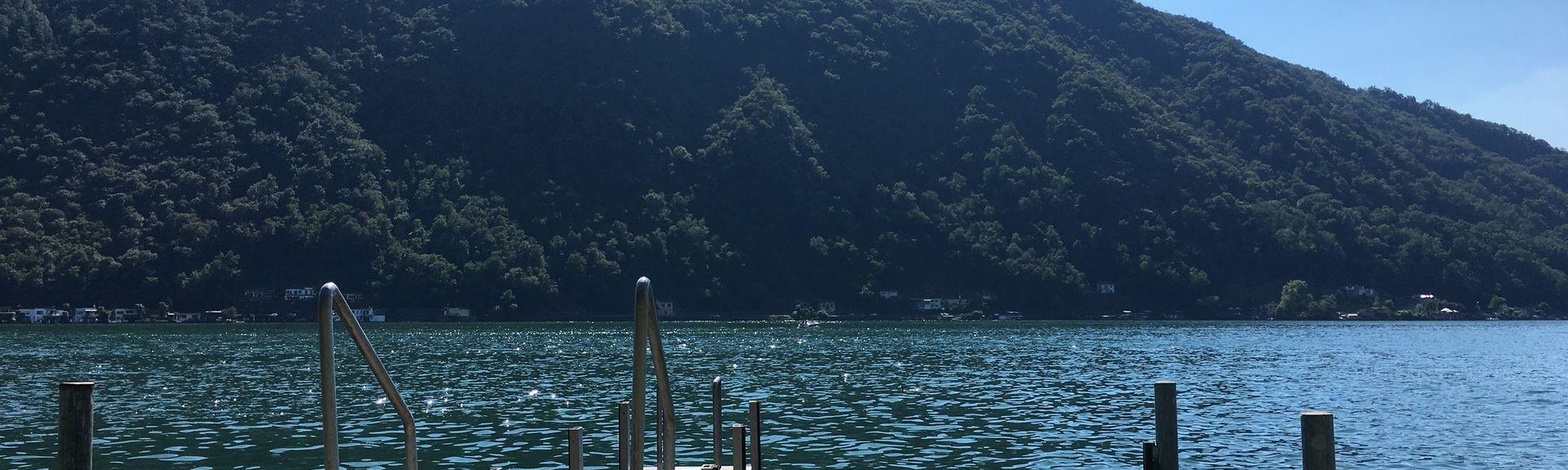 Monte Brè, Lugano, Cantão de Ticino, Suíça