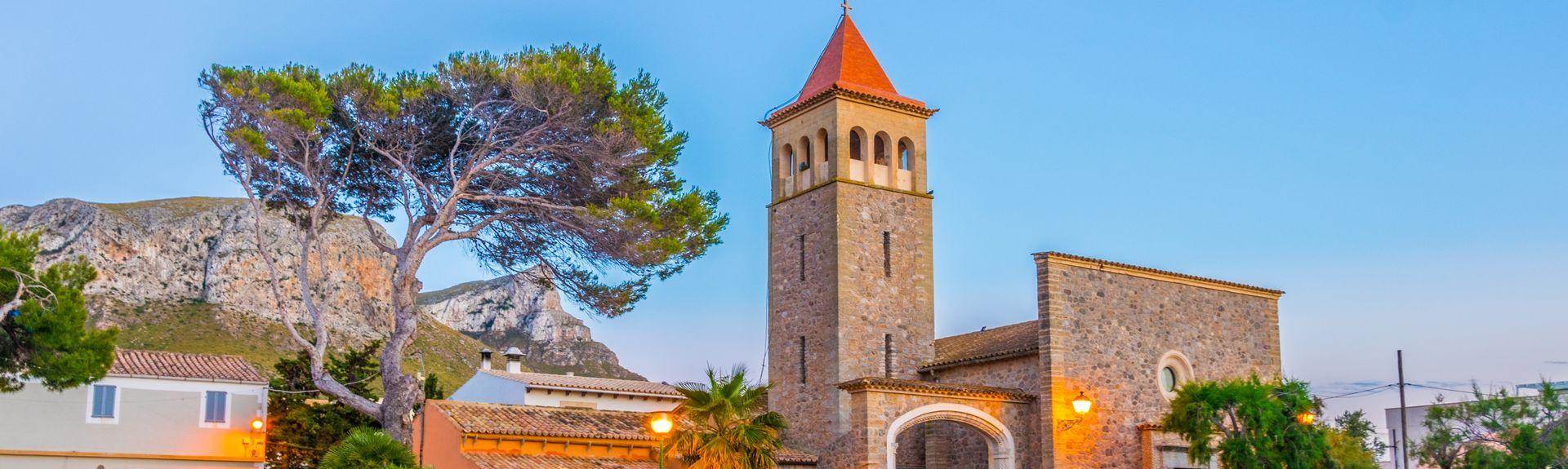 Colonia de Sant Pere, Balearerna, Spanien