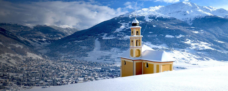 Skigebiet Sulden am Ortler, Stilfs, Trentino-Südtirol, Italien