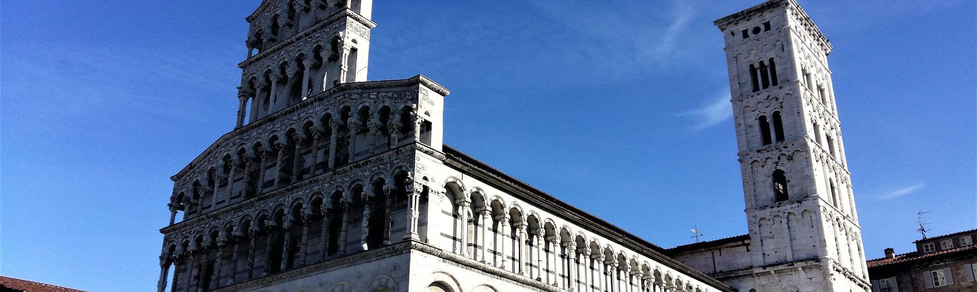 Gare de Tassignano-Capannori, Capannori, Toscane, Italie