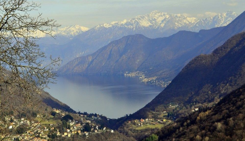 Valsolda, Lombardie, Italie