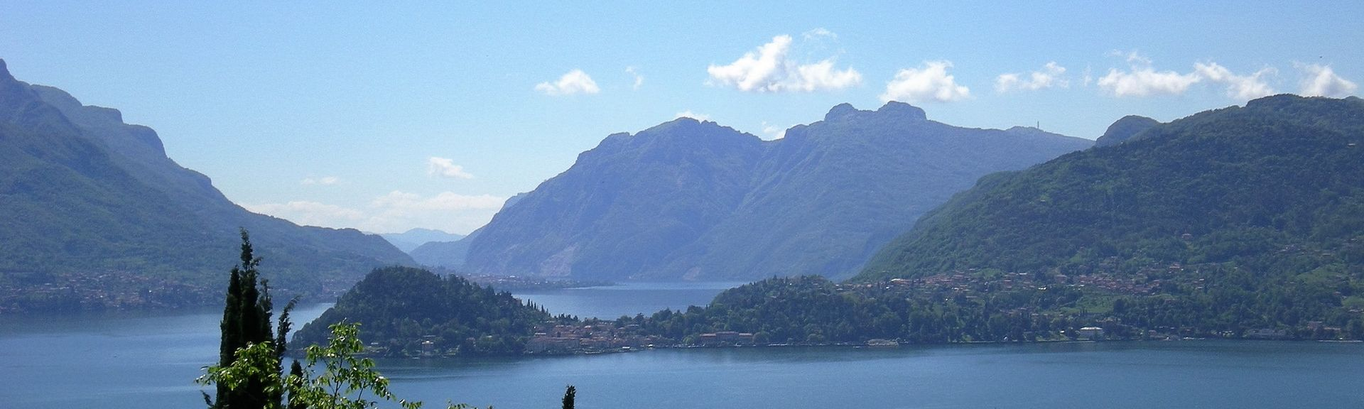 Lake Lugano, Canton of Ticino, Lombardy, Switzerland, Italy