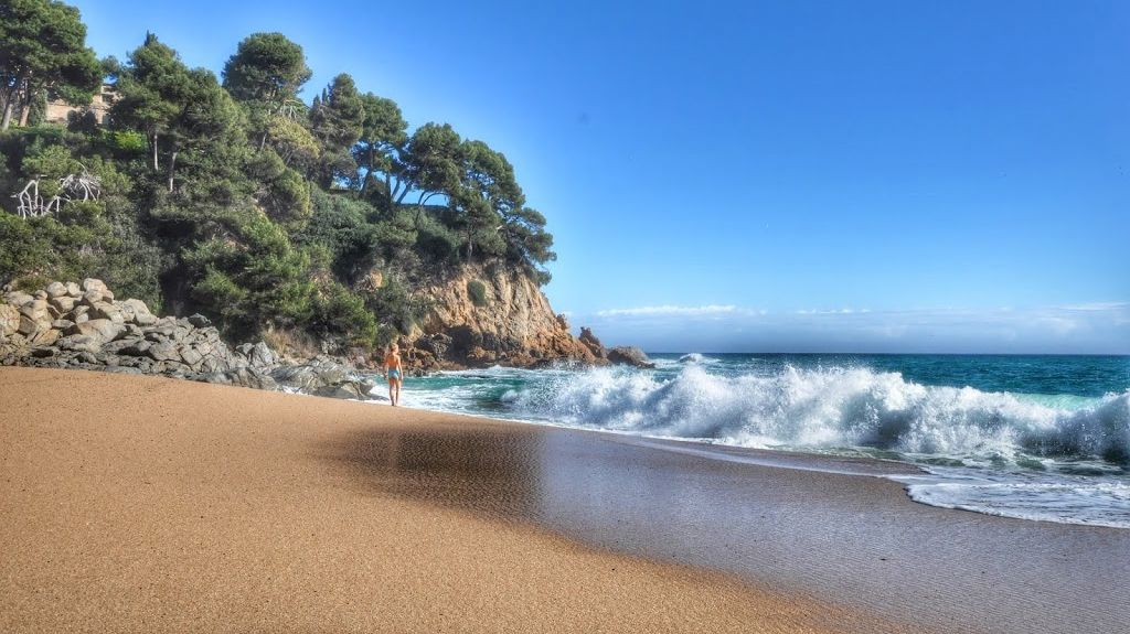 Canyet de Mar, Catalonië, Spanje