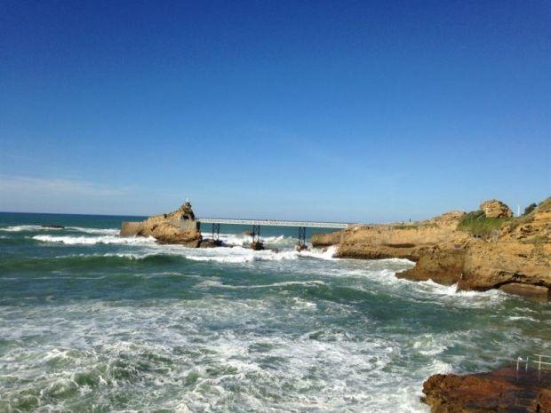 Anglet Beach, Anglet, Nuova Aquitania, Francia