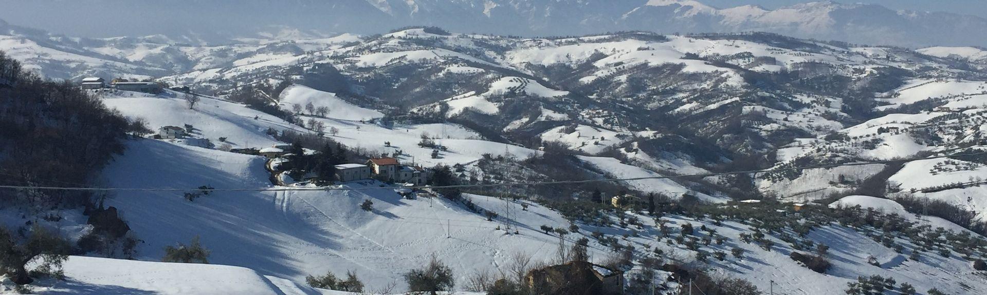 Roseto degli Abruzzi, Abruzzen, Italien