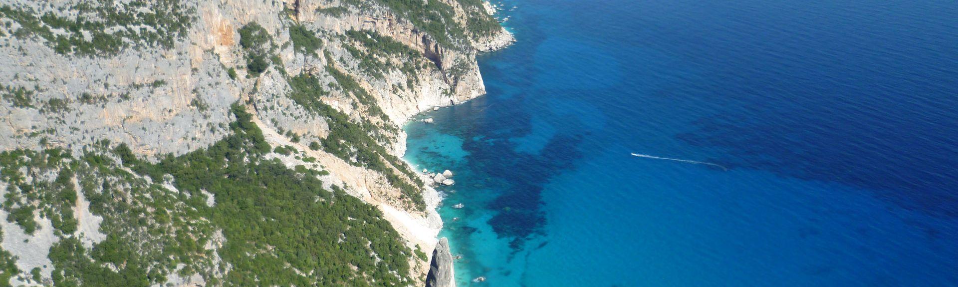 Su Petrosu Beach, Orosei, Sardinia, Italy