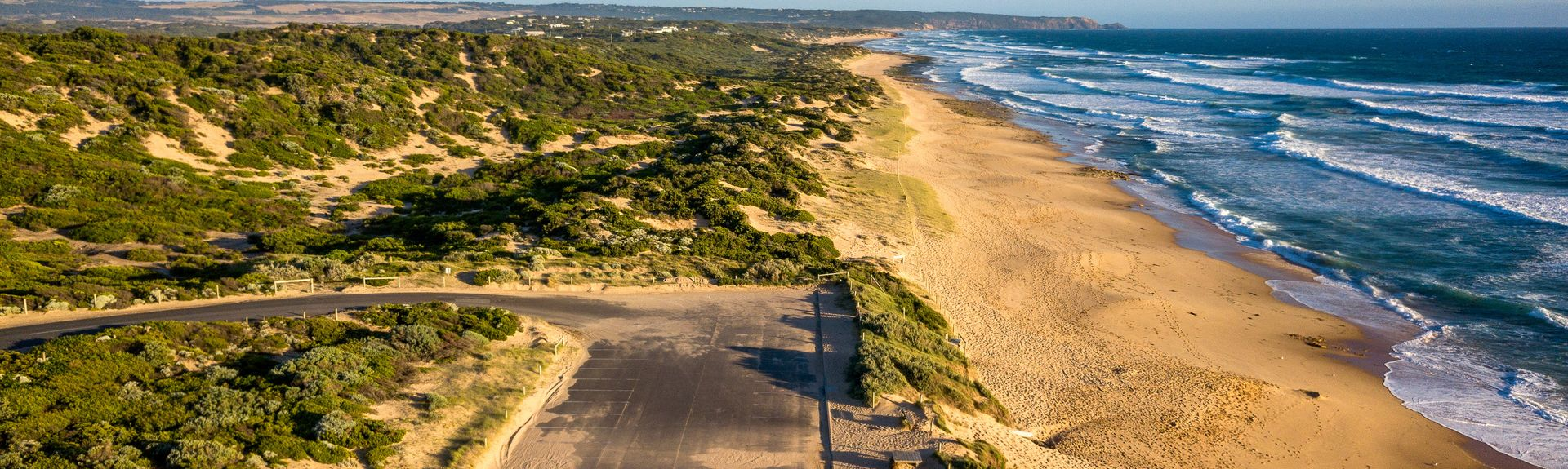 St. Andrews Beach, Melbourne, Victoria, Australië
