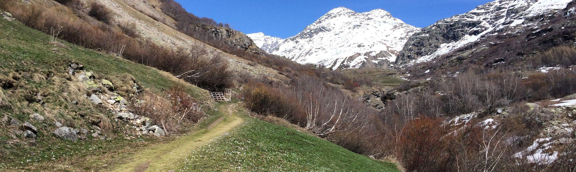 Le Laisinant, Val-d'Isère, Auvergne-Rhône-Alpes, Frankreich