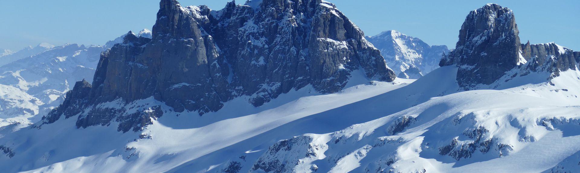 Duerstelen Ski Lift, Andermatt, Switzerland