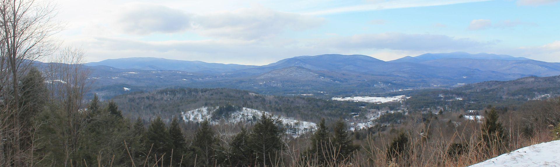 Waterville Valley Resort (station de sports d'hiver), Thornton, New Hampshire, États-Unis d'Amérique