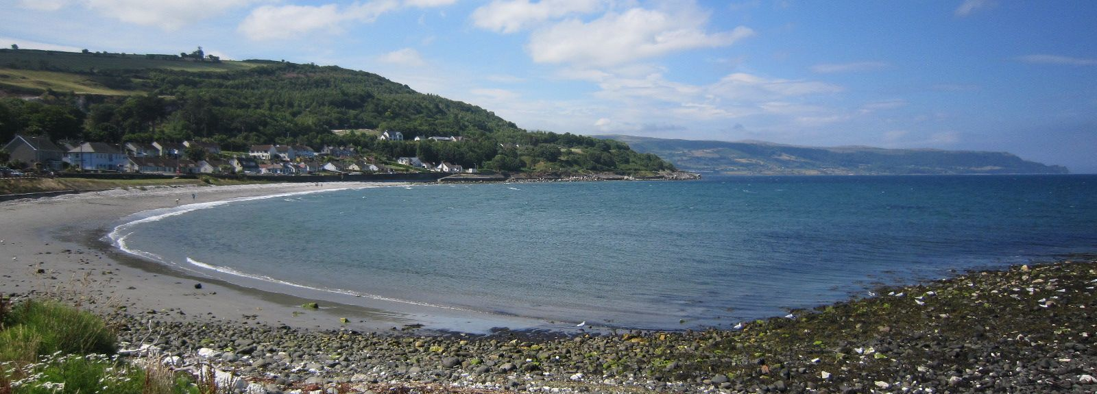 Cushendun Beach, Ballymena, Northern Ireland, UK
