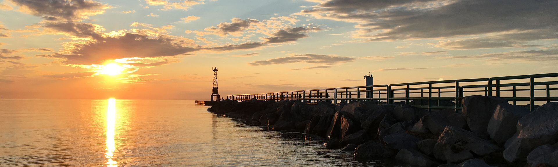 Ludington Waterfront Park, Ludington, MI, USA