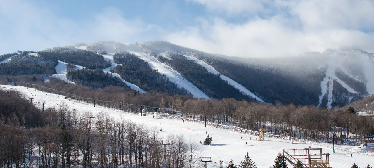 Killington Ski Area, Killington, Vermont, Stati Uniti d'America