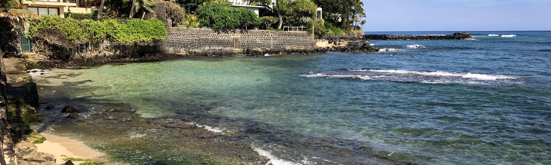 Kawaikui Beach Park, Honolulu, Hawaii, USA