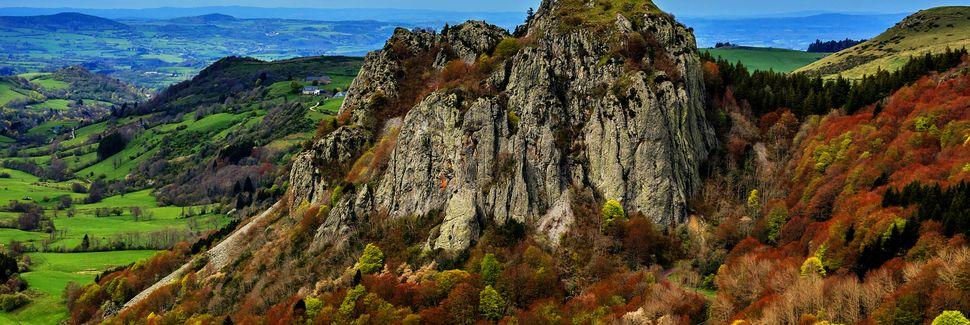 Mont-Dore, Auvérnia-Ródano-Alpes, França