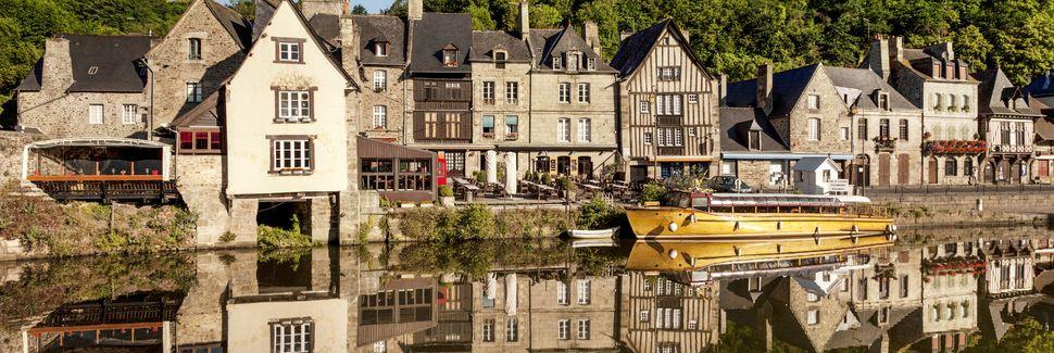 Dinan, Bretaña, Francia