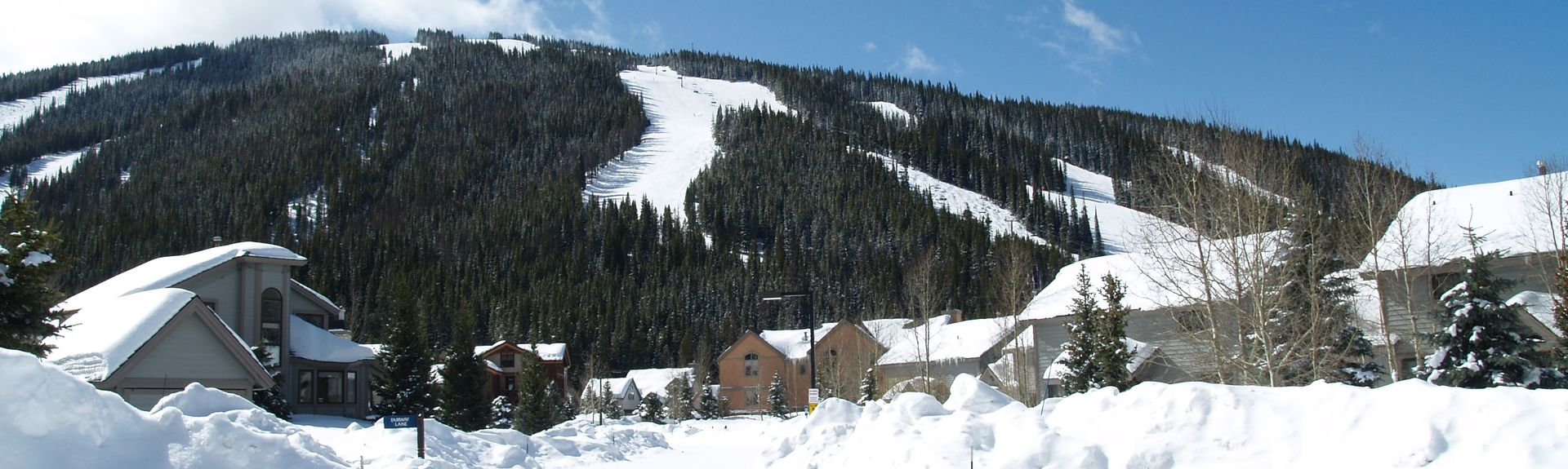 East Village at Copper, Copper Mountain, CO, USA