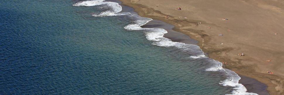 Porís de Abona, Arico, Îles Canaries, Espagne