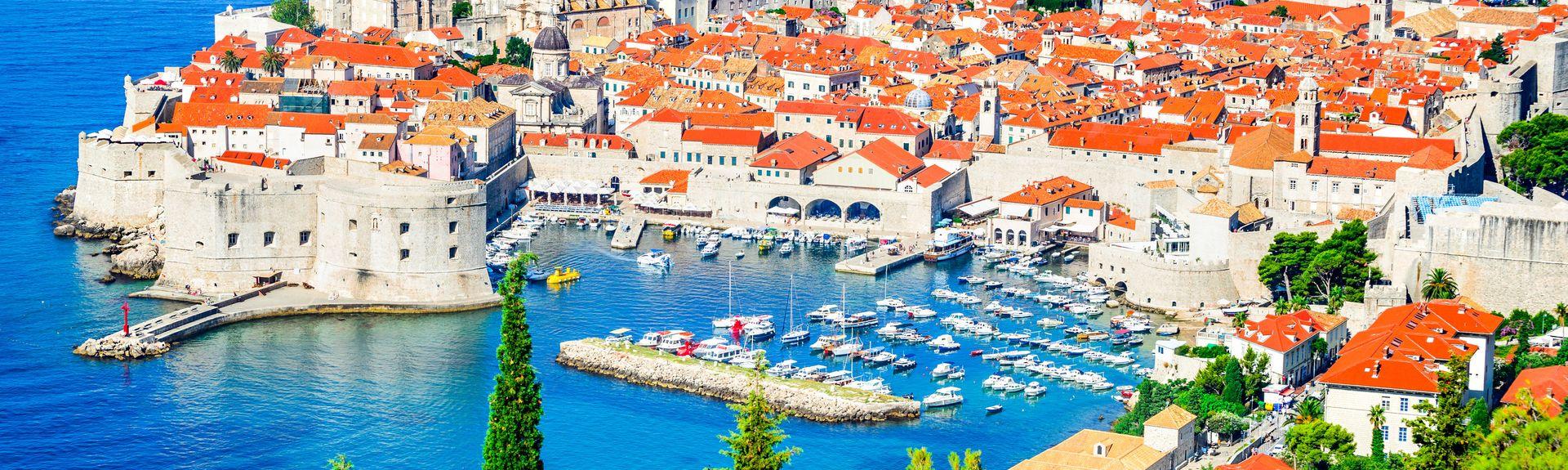 Dubrovnik, Dubrovnik-Neretvas län, Kroatien