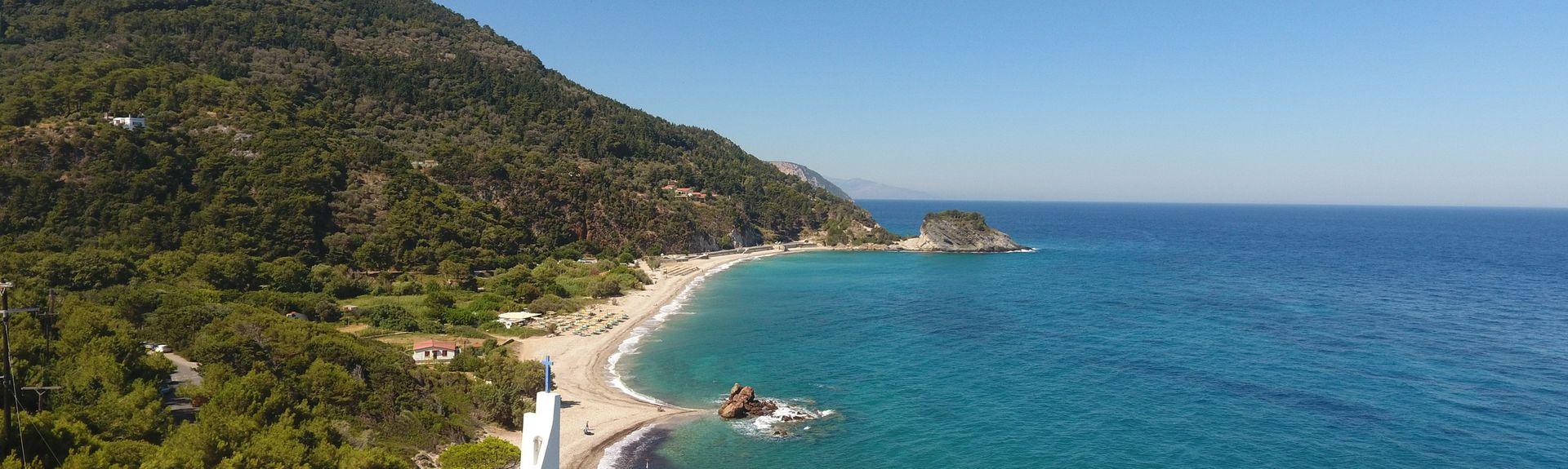 Lemonakia Beach, Samos, Greece